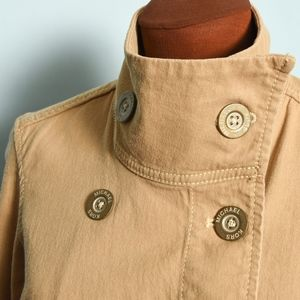 Trendy Michael Kors Jacket w/Logo buttons